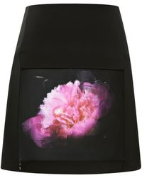 Christopher Kane Lenticular Mini Skirt - Lyst