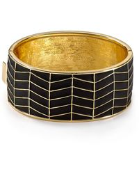 House Of Harlow Enamel River Cuff - Lyst