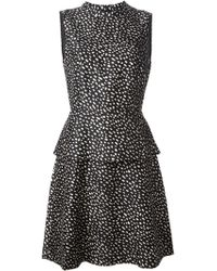 Tory Burch Dotted Print Dress - Lyst