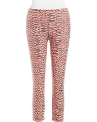 Calvin Klein Performance Patterned Active Pants - Lyst