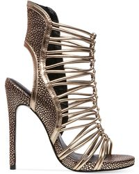 Steve Madden Keyshia Cole By Movit Caged Sandals - Lyst