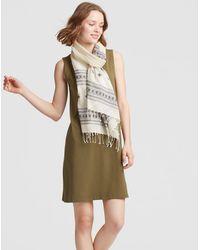 Eileen Fisher - Handloomed Organic Cotton Scarf - Lyst