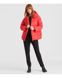 Eileen Fisher - Recycled Nylon Down Jacket - Lyst