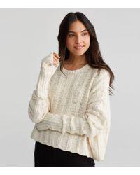 Eileen Fisher - Handknit Peruvian Organic Cotton Glovelettes - Lyst