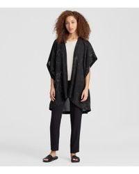 Eileen Fisher - Marrakesh Printed Silk Kimono Jacket - Lyst