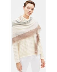Eileen Fisher - Hand-painted Wool Scarf - Lyst