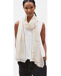 Eileen Fisher - Organic Cotton Patchwork Wrap - Lyst