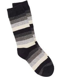 Eileen Fisher - Cozy Viscose Blend Stripe Sock - Lyst