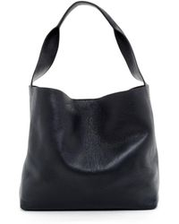 Eileen Fisher - Textured Italian Leather Bucket Tote - Lyst