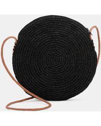 Eileen Fisher - Mar Y Sol Crocheted Raffia Circle Bag - Lyst