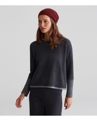 Eileen Fisher - Exclusive Lofty Recycled Cashmere Hat - Lyst