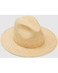 Eileen Fisher - Yellow 108 Natural Palm Straw Stevie Hat - Lyst