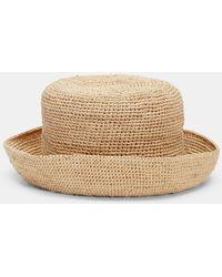Eileen Fisher - Mar Y Sol Crocheted Raffia Sun Hat - Lyst