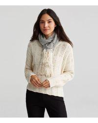Eileen Fisher | Handwoven Peruvian Organic Cotton Scarf | Lyst