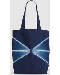 Eileen Fisher - Exclusive Organic Cotton Shibori Tote Bag - Lyst