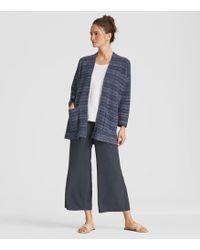 Eileen Fisher - Organic Cotton Tencel Kimono Cardigan - Lyst