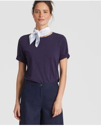 Eileen Fisher - Handstitched Organic Cotton Bandana - Lyst
