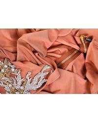 Balmain - Peach Dress - Lyst