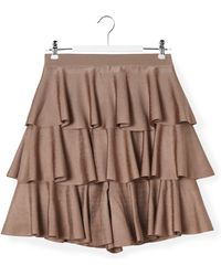 Balmain - Ruffled Skirt - Lyst