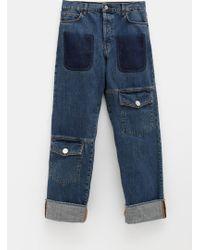 JW Anderson - Wide Leg Men's Jeans - Lyst
