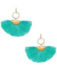 Elaine Turner - Diana Earring In Turquoise - Lyst