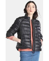 Vero Moda - Short Quilted Coat With French Sleeves - Lyst
