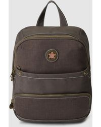 Caminatta - Brown Backpack With Zip - Lyst