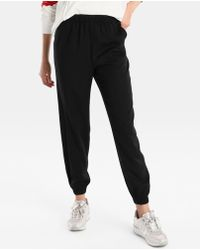 Green Coast - Black Loose-fit Trousers - Lyst