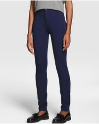 Tommy Hilfiger - Navy Blue Skinny Trousers - Lyst