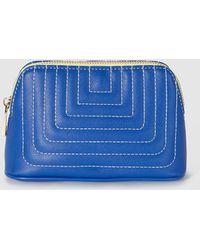 El Corte Inglés - Wo Blue Toiletry Bag With Zip - Lyst