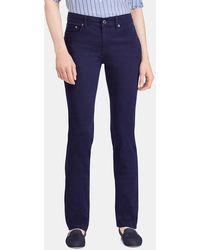 Lauren by Ralph Lauren - Five-pocket Straight Trousers - Lyst