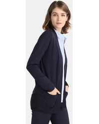 Zendra El Corte Inglés - El Corte Inglés Zendra Long Sleeve Cardigan With Pockets - Lyst