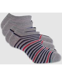 Punto Blanco - Pack Of 2 Pairs Of Striped Ankle Socks - Lyst