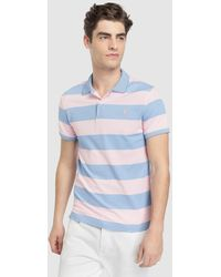 Izod - Regular-fit Pink Short Sleeve Polo Shirt - Lyst