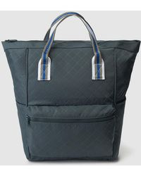 El Corte Inglés - Petrol Blue Nylon Backpack With Outer Pockets - Lyst