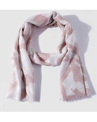 Caminatta - Pink Printed Foulard - Lyst