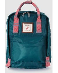 Green Coast - Small Green Contrasting Backpack - Lyst
