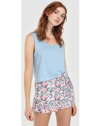 Green Coast - Printed Shorts With Cape - Lyst