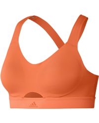 adidas - Stronger For It Soft Sports Bra - Lyst