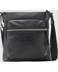 Esprit - Wo Black Crossbody Bag With A Front Pocket - Lyst