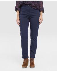 Couchel - Plus Size Five-pocket Semi-straight Jeans - Lyst