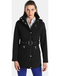 Lauren by Ralph Lauren - Hooded Parka With A Belt - Lyst