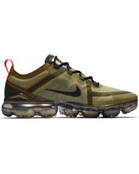 bfdd3bf1caa0 Lyst - Nike Air Vapormax Flyknit Casual Trainers in Gray for Men