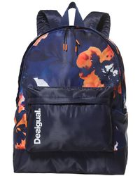 Desigual - Camo Flower Backpack - Lyst