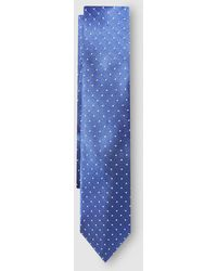 Lauren by Ralph Lauren - Pale Blue Silk Tie With Polka Dots - Lyst