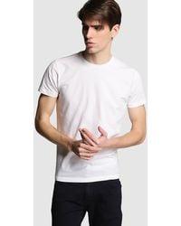 Green Coast - White Short Sleeve T-shirt - Lyst