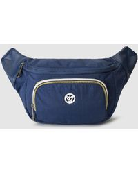 Pepe Moll - Navy Blue Bumbag With Zip - Lyst