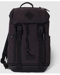 Polo Ralph Lauren Leather-trim Nylon Backpack in Brown for Men - Lyst b5a04d24ddf76