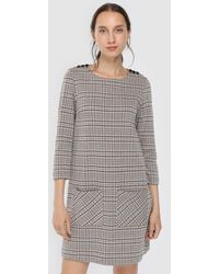 indi & cold - Checked Dress With Two Pockets - Lyst