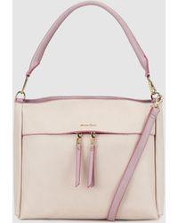 Robert Pietri - Ecru Hobo Bag With Detachable Strap - Lyst